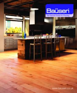 The Natural Choice for Flooring