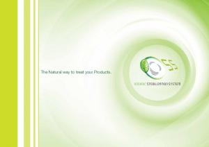 The Natural way to treat your Products
