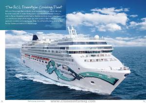 The NCL Freestyle Cruising Fleet