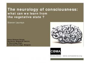 The neurology of consciousness: what can we learn from the vegetative state?