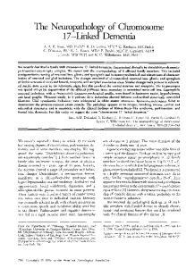 The Neuropathology of Chromosome