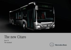 The new Citaro Euro VI The standard