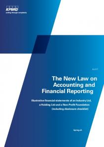 The New Law on Accounting and Financial Reporting