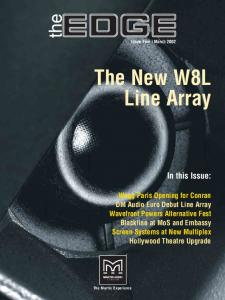 The New W8L Line Array