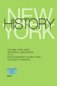 THE NEW YORK STATE HISTORICAL ASSOCIATION