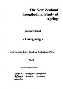 The New Zealand Longitudinal Study of Ageing