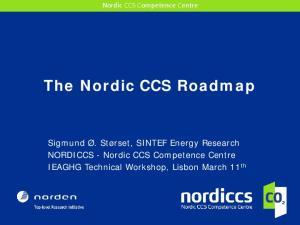 The Nordic CCS Roadmap