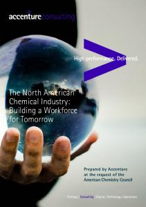 The North American Chemical Industry: Building a Workforce for Tomorrow