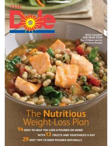 The Nutritious Weight-Loss Plan