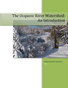 The Ocqueoc River Watershed: An Introduction. Ocqueoc River located at M-68
