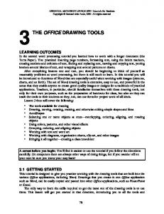 THE OFFICE DRAWING TOOLS