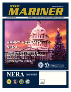 The Official Publication of the Naval Enlisted Reserve Association. NAVY RESERVE Ready Now. Anytime, Anywhere