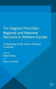 The Palgrave Macmillan Regional and National Elections in Western Europe