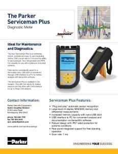 The Parker Serviceman Plus