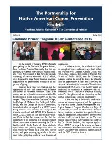 The Partnership for Native American Cancer Prevention