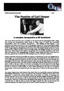 The Passion of Carl Dreyer