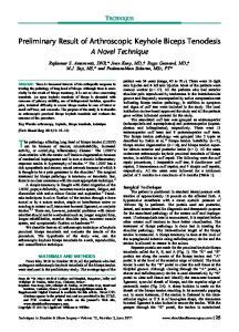 The pathology affecting long head of biceps tendon (LHBT)