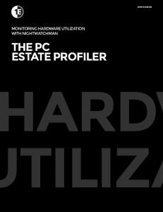 THE PC ESTATE PROFILER