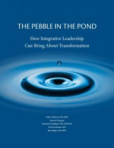 THE PEBBLE IN THE POND