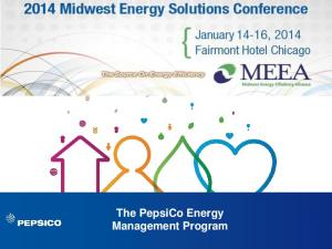 The PepsiCo Energy Management Program