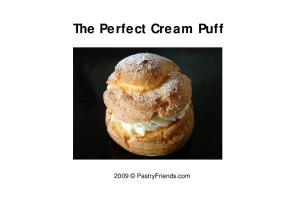 The Perfect Cream Puff PastryFriends.com
