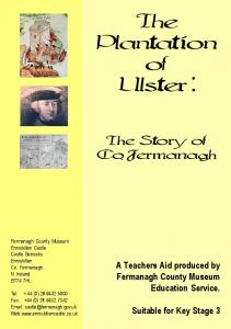 The Plantation of Ulster :