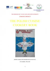 THE POLISH CUISINE COOKERY BOOK