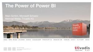 The Power of Power BI