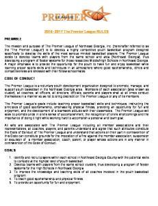 The Premier League RULES