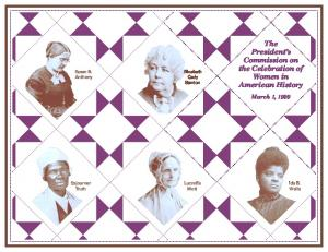 The President s Commission on the Celebration of Women in American History