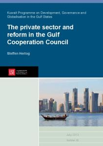 The private sector and reform in the Gulf Cooperation Council
