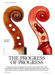 The progress of progress