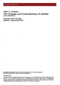 The Promise and Contradictions of Axiality