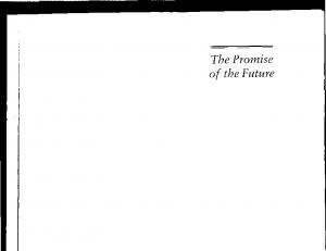 The Promise of the Future