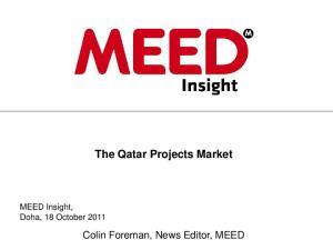 The Qatar Projects Market