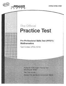The Qfficjaj Practice Test