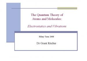 The Quantum Theory of Atoms and Molecules: