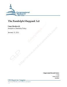 The Randolph-Sheppard Act