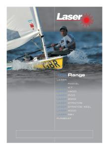 The Range LASER LASER 4.7 LASER 2000 LASER 4000 FUNBOAT