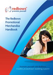 The Redbows Promotional Merchandise Handbook