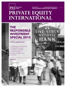 THE RESPONSIBLE INVESTMENT SPECIAL 2015