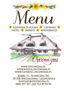 The restaurant with polish cuisine: