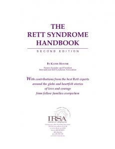 THE RETT SYNDROME HANDBOOK