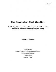 The Revolution That Was Not: