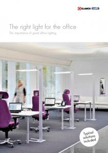 The right light for the office