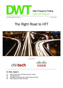 The Right Road to HFT