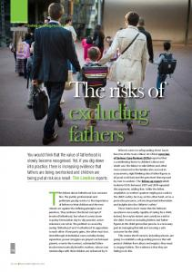 The risks of excluding fathers