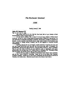 The Rochester Sentinel