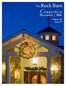 The Rock Barn. Connection. December Volume 48 Issue 12