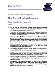The Rocky Road to Recovery